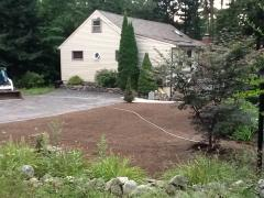 Pelham, NH lawn renovation