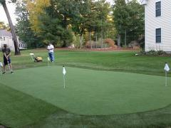Pelham, NH Outdoor Putting Green