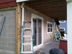 Pelham, NH Framing in for Stone Veneer